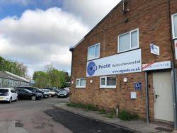 OJ Poole New Premises